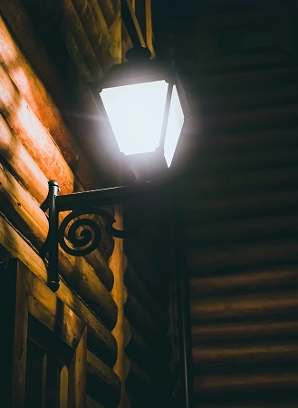 Solar wandlampen